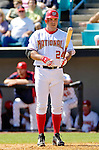 5 March 2006: Nick Johnson, first baseman for the Washington Nationals, at bat during a Spring Training game against the Baltimore Orioles. The Nationals defeated the Orioles 10-6 at Space Coast Stadium, in Viera Florida...Mandatory Photo Credit: Ed Wolfstein..