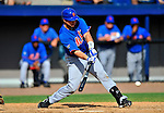 10 March 2012: New York Mets catcher Vinny Rottino in action during a Spring Training game against the Washington Nationals at Space Coast Stadium in Viera, Florida. The Nationals defeated the Mets 8-2 in Grapefruit League play. Mandatory Credit: Ed Wolfstein Photo