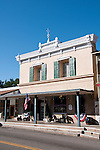 Historic buildings, downtown, Mariposa; California, USA.  Photo copyright Lee Foster.  Photo # california121527