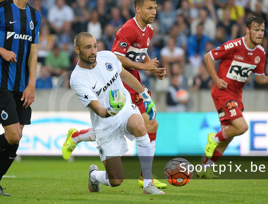 Club Brugge - KV Kortrijk : Sebastien Bruzzese <br /> Foto VDB / Bart Vandenbroucke