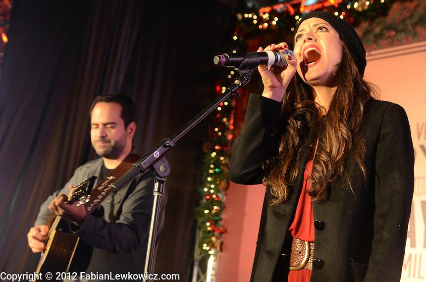 Season 8 American Idol Contestants Top 12 Season 8 American Idol Contestant Ann Marie Boskovich Performs During The