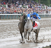 Capt. Candyman Can wins the Grade 1 King's Bishop Stakes at Saratoga on Aug. 29, 2009 by disqualification over Vineyard Haven.
