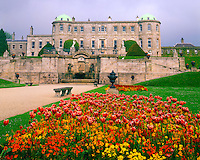 Powerscourt Castle and Gardens, County Wicklow, Republic of Ireland, Wicklow Mountains, Morning, May