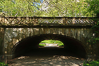 Greyshot Arch, Designer  Calvert Vaux, Central Park, Manhattan, New York City, New York, USA