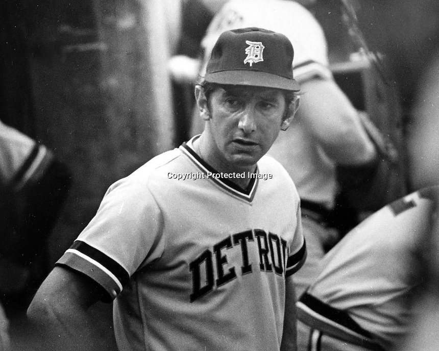 Detroit Tiger manager Billy Martin, (1972 photo by Ron Riesterer)