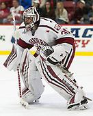 Merrick Madsen (Harvard - 31) - The Harvard University Crimson defeated the visiting Cornell University Big Red on Saturday, November 5, 2016, at the Bright-Landry Hockey Center in Boston, Massachusetts.