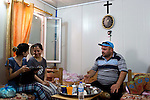 Mcc0070043 . Daily Telegraph<br /> <br /> DT News<br /> <br /> Ryin Farouk Benham, who lives with his family in the Virgin Mary Camp for homeless Christians that escaped Mosul when ISIS took the city .<br /> <br /> Baghdad 13 May 2016