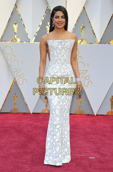 HOLLYWOOD - FEBRUARY 26: Priyanka Chopra attends the 89th Annual Academy Awards at the Dolby Theatre on February 26, 2017 in Hollywood, California. <br /> CAP/MPI99<br /> &copy;MPI99/Capital Pictures