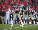 Ole Miss' Carlos Davis (34) vs. Georgia at Sanford Stadium in Athens, Ga. on Saturday, November 3, 2012.