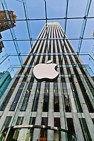 Apple Store, 767 Fifth Avenue GM Building, designed by Dan Shannon of Moed de Armas &amp; Shannon, New York City, New York
