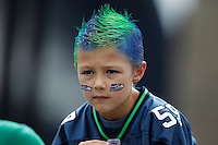 Seahawks vs 49ers - kid fan
