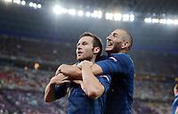 Fussball EURO 2012: Ukraine - Frankreich