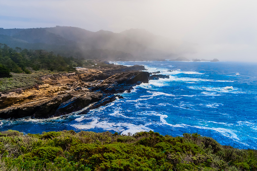Seascape, Point Lobos State Marine Reserve, Monterey County, California USA