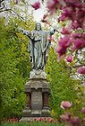 May 5, 2011; Jesus statue on Main Quad..Photo by Matt Cashore/University of Notre Dame