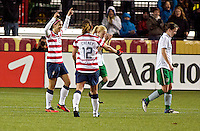 US Women's Soccer vs Ireland, November 28, 2012
