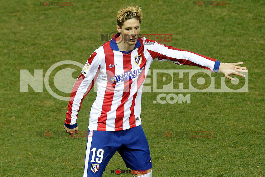 Atletico de Madrid's Fernando Torres during La Liga match.January 24,2015. (ALTERPHOTOS/Acero) /NortePhoto<br />
