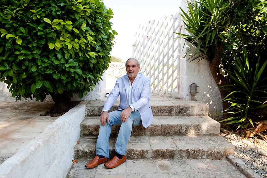 Ariel Toaff, writer, Festivaldeisensi, Cisternino, agosto 2010,  © Leonardo Cendamo