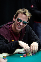 28 February 2009:  Pro Player Phil Laak wearing signature reflective sunglasses during the 7th Annual WPT World Poker Tour Invitational at the Commerce Casino in Los Angeles, CA. Players compete for poker glory and a  piece of the $200,000 prize pool. Celebrity and Pro card players in action.