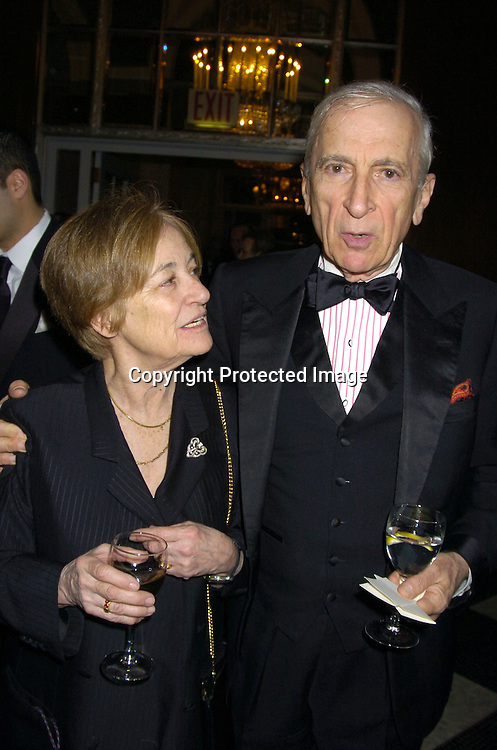Alice Mayhew and Gay Talese ..at The 30th Anniversary of The New Yorker for New York Awards on February 14, 2005 at The Waldorf Astoria Hotel...Photo by Robin Platzer, Twin Images