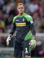 Fussball  1. Bundesliga  Saison 2013/2014   1. SPIELTAG FC Bayern Muenchen - Borussia Moenchengladbach       09.08.2013 Torwart Marc Andre ter Stegen (Borussia Moenchengladbach)