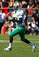 WEST LAFAYETTE, IN - SEPTEMBER 29: Rakeem Cato #12 of the Marshall Thundering Herd drops back to pass against the Purdue Boilermakers at Ross-Ade Stadium on September 29, 2012 in West Lafayette, Indiana. (Photo by Michael Hickey/Getty Images) *** Local Caption *** Rakeem Cato