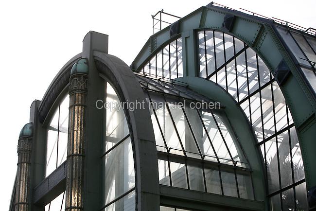 Glasshouses Jardin des Plantes Paris  Manuel Cohen