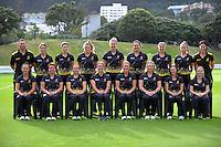 170205 Women's Cricket - Wellington Blaze Team Photo & Headshots