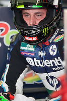 Pol Espargaro in a moment of concentration