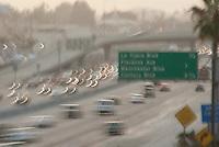 405 Freeway Rush Hour Traffic, Los Angeles, Ca
