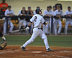 Ole Miss' Alex Yarbrough (2) bats at Oxford-University Stadium in Oxford, Miss. on Thursday, May 12, 2011. Mississippi State won 7-6. (AP Photo/Oxford Eagle, Bruce Newman)