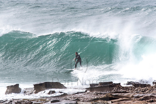 Big and raw south swell at Dee Why point was pounced on by a sizable crew of keen surfers. Maybe you were one of them...