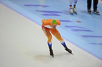 SCHAATSEN: HEERENVEEN: IJsstadion Thialf, 06-10-2012, Trainingswedstrijd, KNSB Jong Oranje, Paul Yme Brunsmann, ©foto Martin de Jong