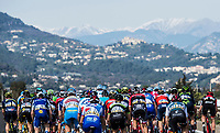 Picture by Alex Broadway/SWpix.com - 12/03/17 - Cycling - 2017 Paris Nice - Stage Eight - Nice to Nice - The peloton rides through the French countryside.