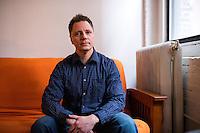 John Paul Moran - Portrait - Preparing to go to Trump Inauguration - NYT