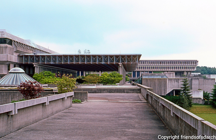 Vancouver: Simon Fraser University. 1-8: A tour from west to east.