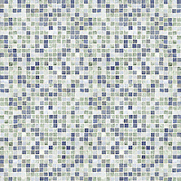 Name: Random Field (1.5 cm)<br /> Style: Classic<br /> Product Number: NRFGRIDRANDM<br /> Description: 24&quot;x 24&quot; Random Field in Blue Macauba, Ming Green, Celeste (p)