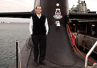 Industrial portrait shoot for Raytheon Electronics Group on board a Royal Australian Navy submarine.