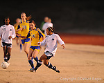 Oxford High's Meredith Sanford (14) vs. Ridgeland in girls soccer North Half championship play-off action on Tuesday, February 2, 2010 in Oxford, Miss.
