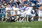 _88R3951..2012 FTB vs Weber State University..BYU - 45.Weber State - 6. .Photo by Jaren Wilkey/BYU..September 8, 2012..© BYU PHOTO 2012.All Rights Reserved.photo@byu.edu  (801)422-7322