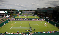 Ambience..Tennis - Grand Slam - The Championships Wimbledon - AELTC - The All England Club - London - Mon June 25th 2012. .© AMN Images, 30, Cleveland Street, London, W1T 4JD.Tel - +44 20 7907 6387.mfrey@advantagemedianet.com.www.amnimages.photoshelter.com.www.advantagemedianet.com.www.tennishead.net