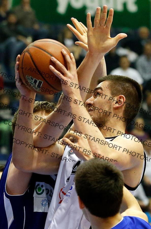 Bozo Djumic Aba Jadranska Regionalna liga, Partizan - Zadar, 25. kolo Beograd, Srbija, 15.3.2015.  (credit image & photo: Pedja Milosavljevic / STARSPORT).