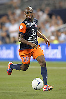 Souleymane Camara (19) forward Montpellier in action..Sporting Kansas City were defeated 3-0 by Montpellier HSC in an international friendly at LIVESTRONG Sporting Park, Kansas City, KS..