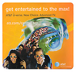 Roller Coaster photo used as mouse pad by AT&T.