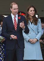 Kate, Duchess of Cambridge & Prince William Visit Valero Pembroke Refinery - UK