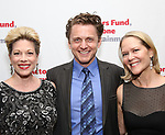 Marin Mazzie, Jason Danieley and Rebecca Luker attends The Actors Fund Annual Gala at the Marriott Marquis on 5/8//2017 in New York City.