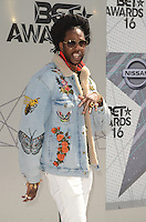 LOS ANGELES, CA - JUNE 26: 2 Chainz at the 2016 BET Awards at the Microsoft Theater on June 26, 2016 in Los Angeles, California. Credit: David Edwards/MediaPunch