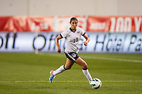 United States (USA) midfielder Carli Lloyd (10). The women's national team of the United States defeated the Korea Republic 5-0 during an international friendly at Red Bull Arena in Harrison, NJ, on June 20, 2013.
