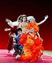 "London, UK. 29/06/2011.  les ballets C de la B Alain Platel and Frank Van Laecke present ""Gardenia"" at Sadler's Wells. Front: Rudy Suwyns. Photo credit should read Jane Hobson"