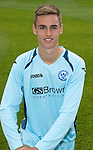 St Johnstone FC Season 2012-13 Photocall.Keiran Stewart.Picture by Graeme Hart..Copyright Perthshire Picture Agency.Tel: 01738 623350  Mobile: 07990 594431