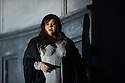 London, UK. 09.09.2014. The new English National Opera season begins with OTELLO, with music by Giuseppe Verdi and written by Arrigo Boito, after William Shakespeare. Directed by David Alden and conducted by Edward Gardner, OBE. Picture shows: Leah Crocetto (Desdemona). Photograph © Jane Hobson.